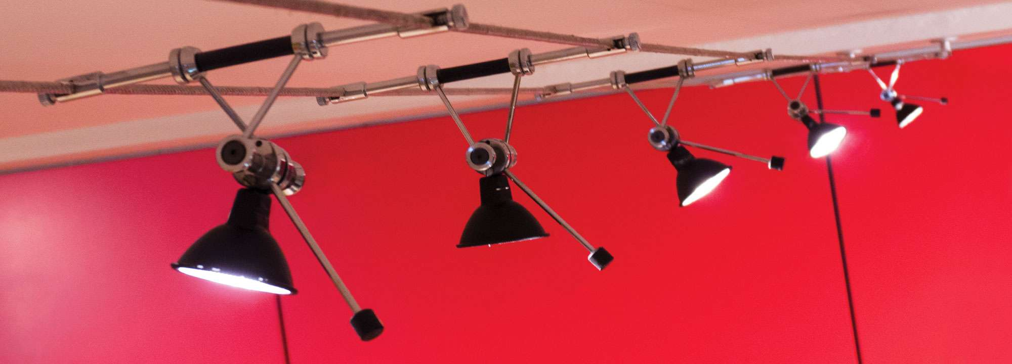 cable suspended lighting manufactured by shopkit uk