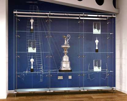 Glass Trophy Cabinets Custom Made And Illuminated By Shopkit