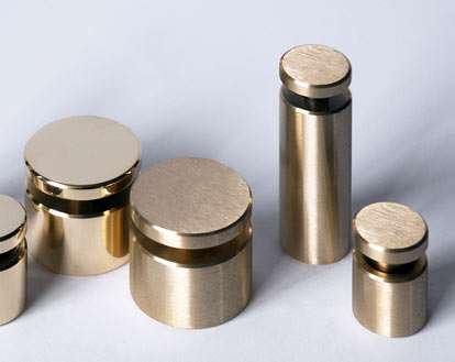 Drilled Panel Supports And Standoffs Sign Fixings Shopkit Group Uk